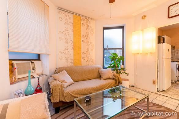 Foto del salotto dell'appartamento condiviso NY-14875