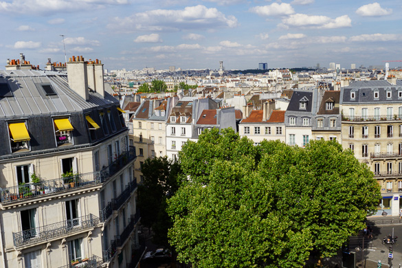 Foto della vista dall'appartamento monolocale PA-2650 a Saint-Germain