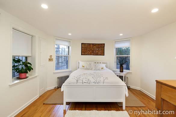 Immagine della casa vacanze in affitto con una camera da letto a Park Slope NY-16696