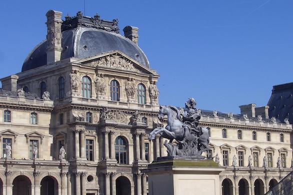 Immagine della facciata del Musée d'Orsay