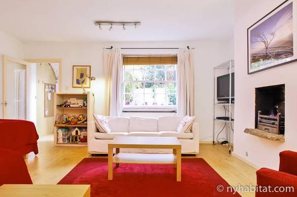 Immagine del soggiorno dell'appartamento LN-1473 a Regent's Park