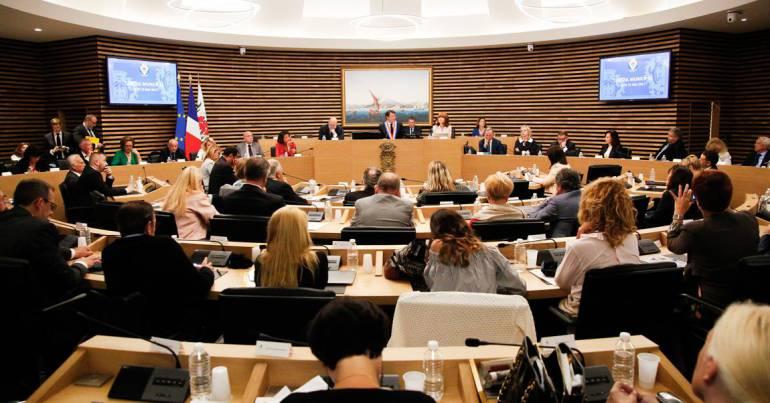 Immagine del consiglio comunale di Nizza