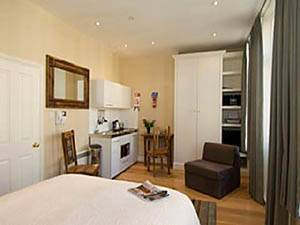 Ferienwohnung in London Studiowohnung - Earls Court, South Kensington (LN-545)
