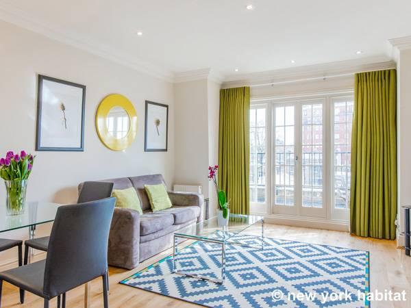 London Apartment: 1 Bedroom Apartment Rental in Chelsea (LN-896)