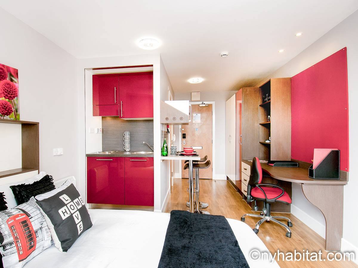 London - Studio apartment - Apartment reference LN-1170