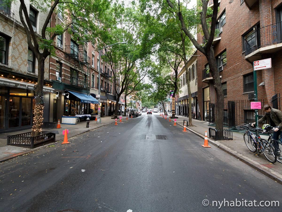wohnungsvermietung in new york 2 zimmer greenwich village ny 481. Black Bedroom Furniture Sets. Home Design Ideas