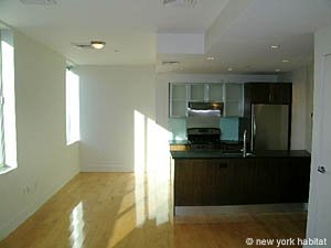 New York Unfurnished Apartment Rental: 1 Bedroom Rental in Williamsburg, Brooklyn (NY-12540)