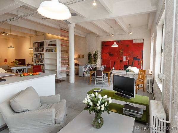 Loft Apartment Layout Ny 14253 Image Slider Living Room Photo 1 Of 20