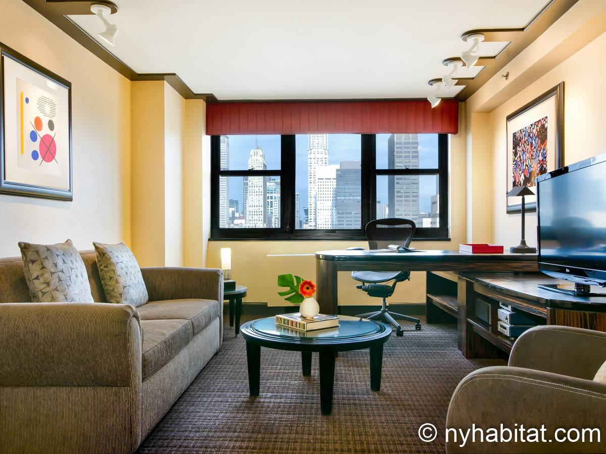 New York - 1 Bedroom accommodation - Apartment reference NY-14516