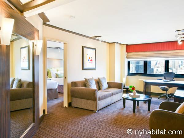 New York - 1 Bedroom accommodation - Apartment reference NY-14517