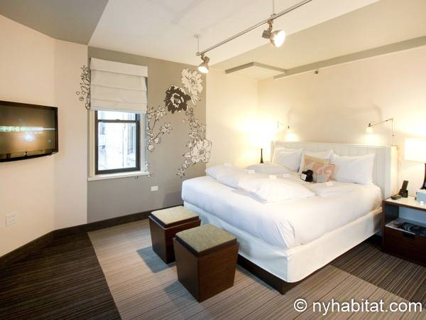 New York - Studio T1 appartement location vacances - Appartement référence NY-14520