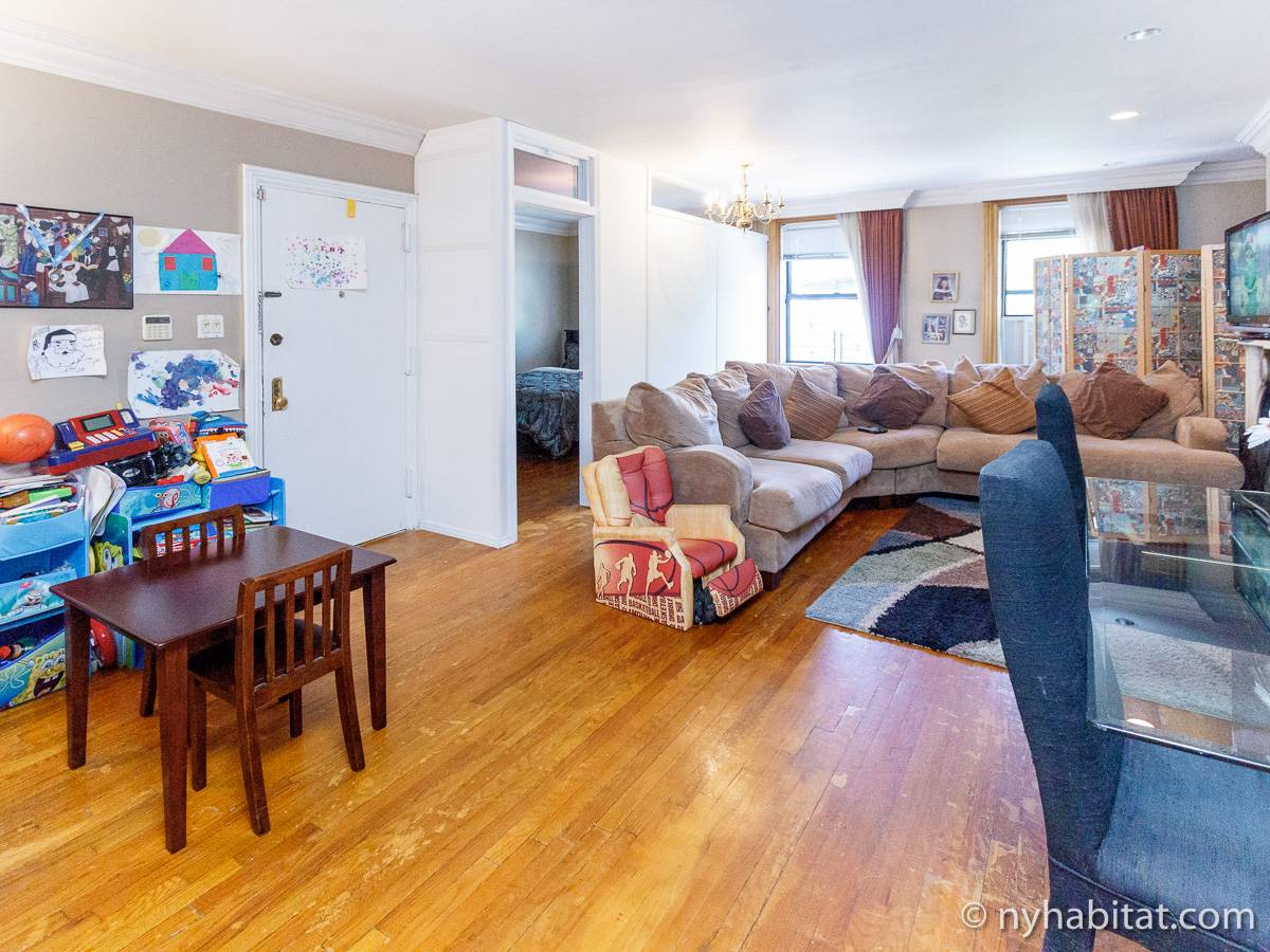 New York - 3 Bedroom accommodation bed breakfast - Apartment reference NY-14665