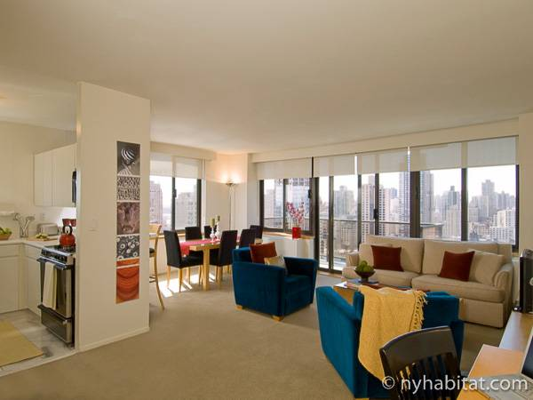 New York - 3 Bedroom accommodation - Apartment reference NY-14742