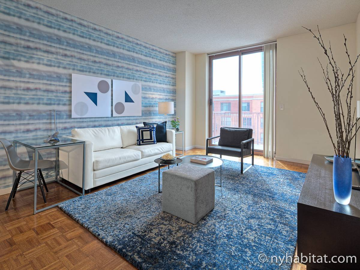 New York - 1 Bedroom accommodation - Apartment reference NY-14856