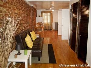 New York Apartment: Alcove Studio Apartment Rental in Clinton Hill (NY-14911)