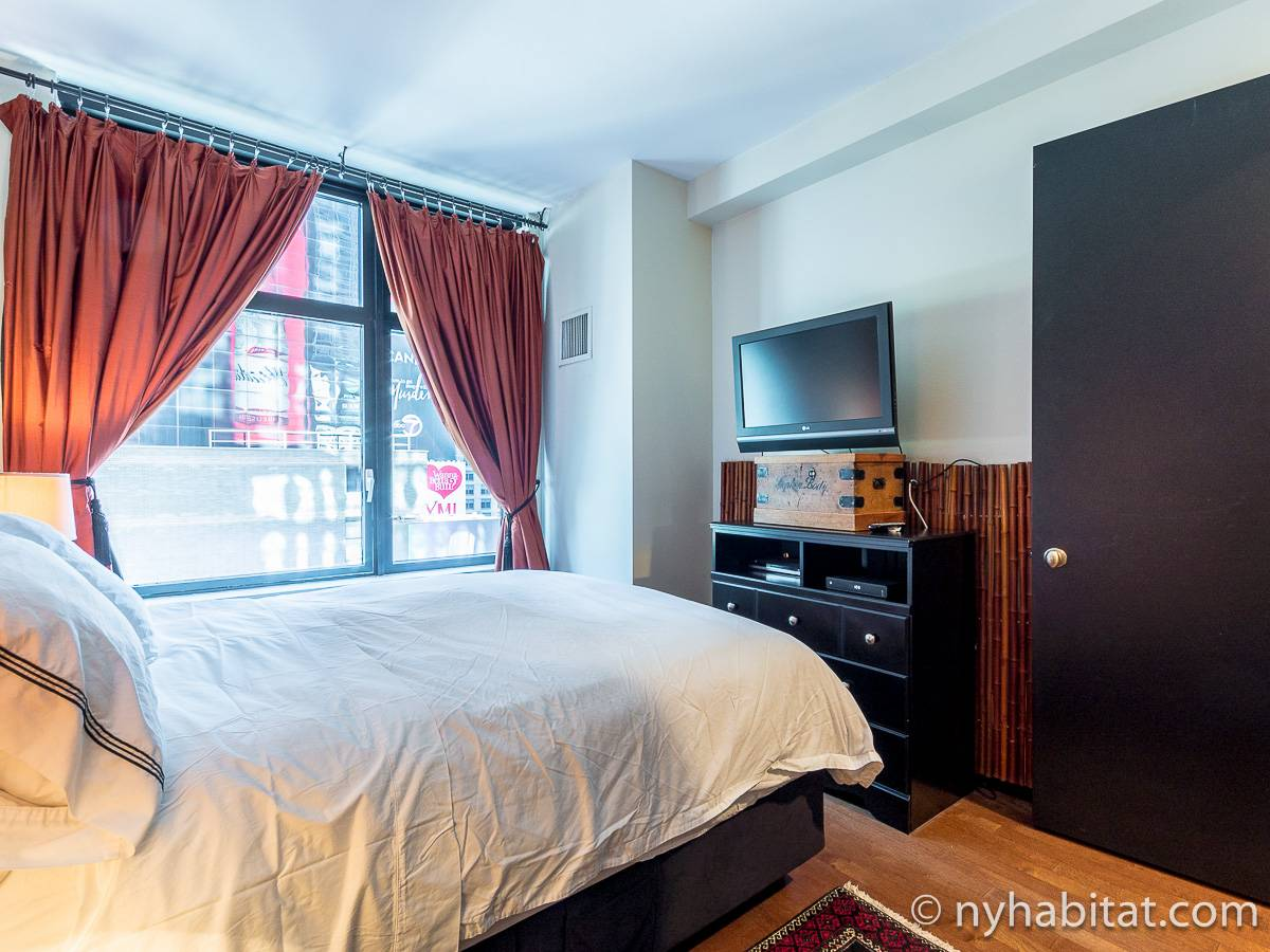 new york apartment 1 bedroom apartment rental in midtown west ny 14951. Black Bedroom Furniture Sets. Home Design Ideas