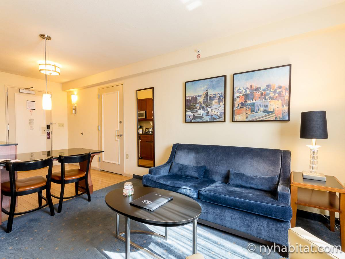 New York - 1 Bedroom accommodation - Apartment reference NY-15683