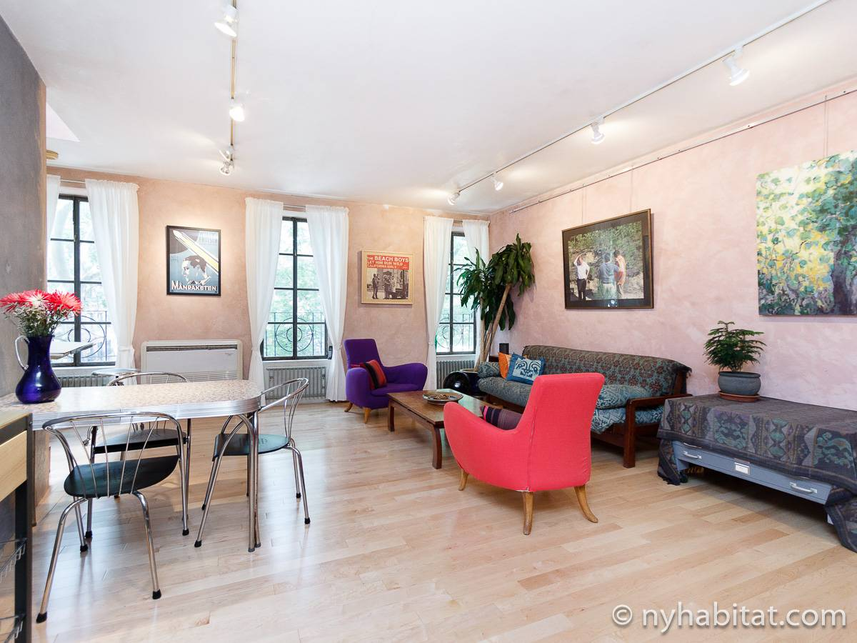 New York - 1 Bedroom accommodation - Apartment reference NY-16502