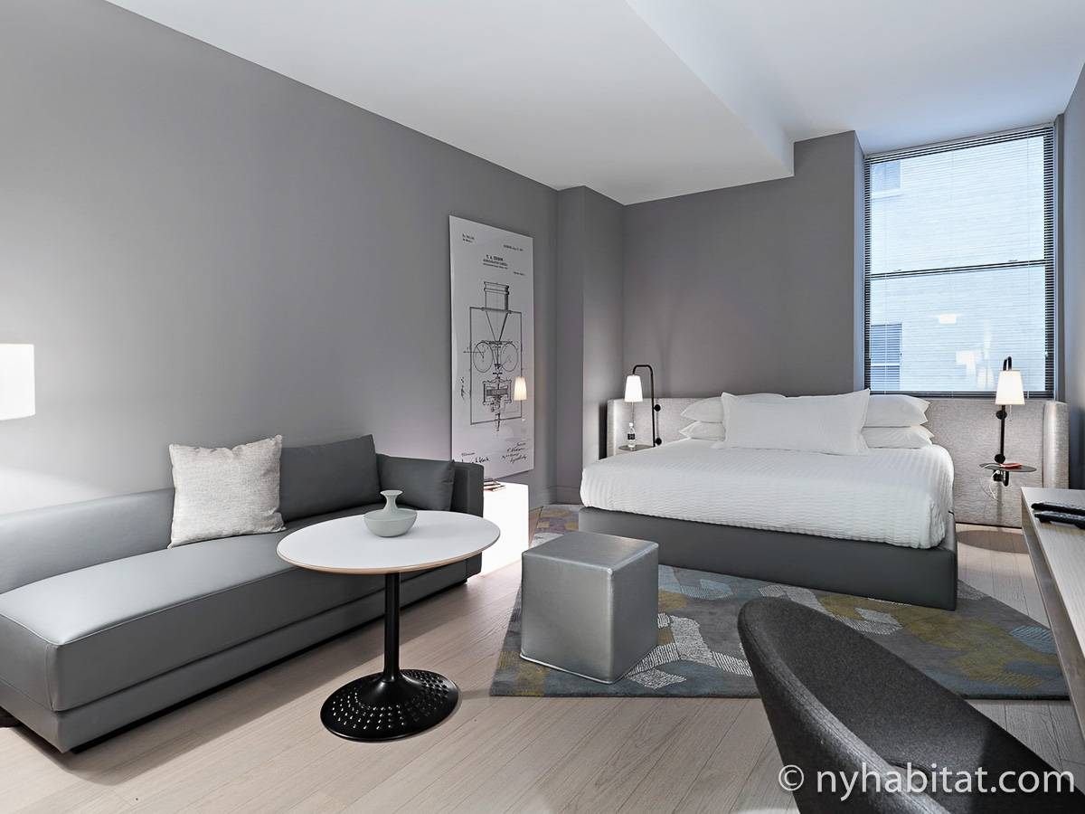 New York - Studio T1 appartement location vacances - Appartement référence NY-16574