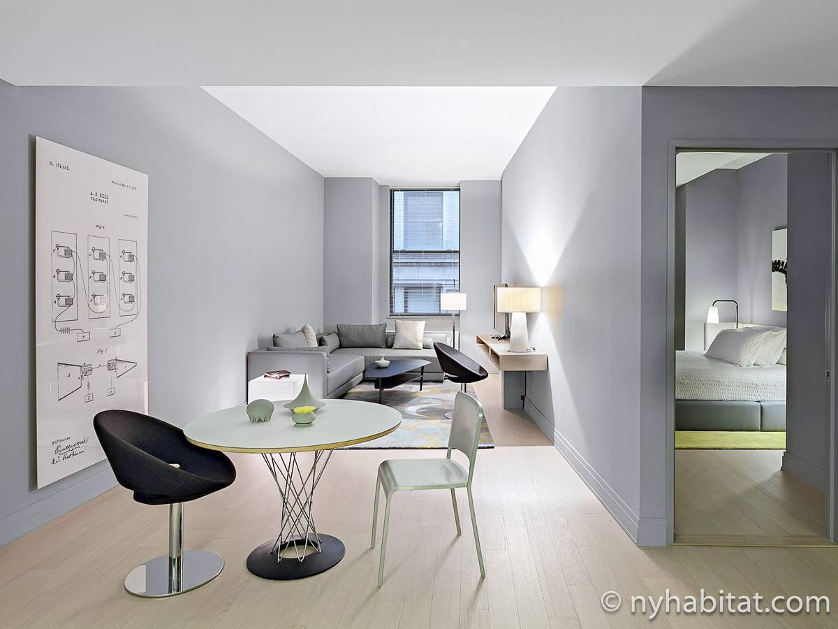 New York - 1 Bedroom accommodation - Apartment reference NY-16581