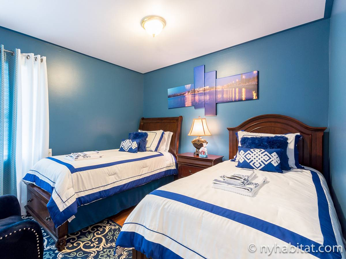 new york accommodation 2 bedroom apartment rental in