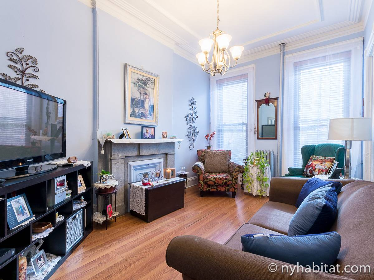 New York - 4 Bedroom roommate share apartment - Apartment reference NY-17387