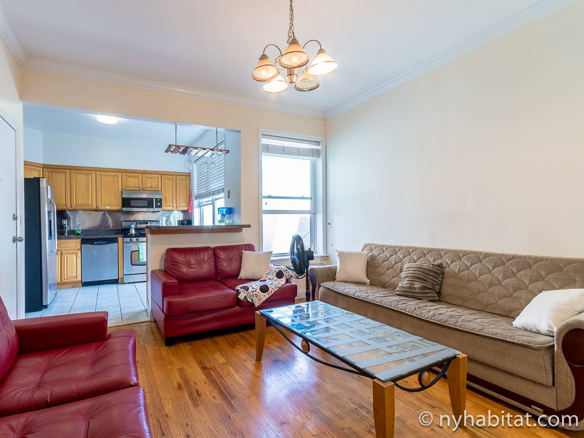 New York - 4 Bedroom roommate share apartment - Apartment reference NY-17606