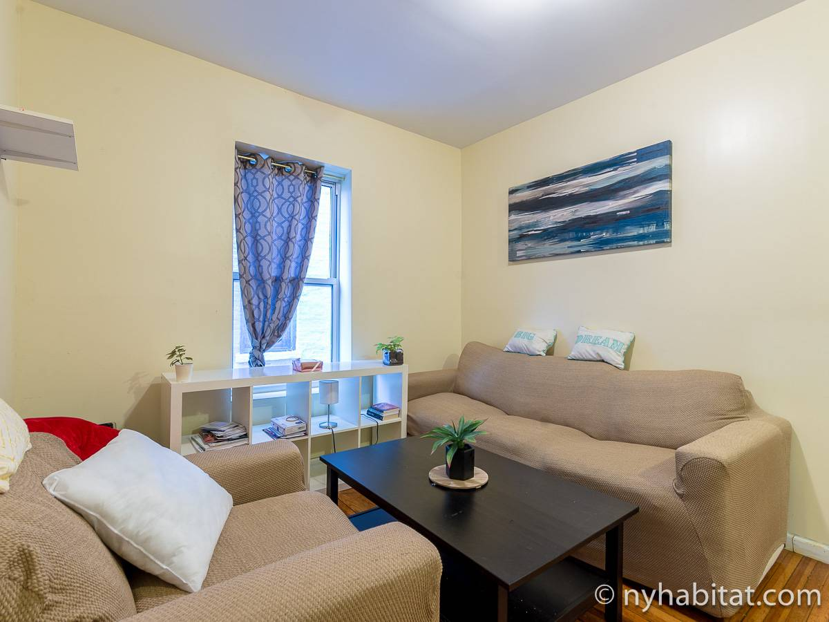 New York - 4 Bedroom roommate share apartment - Apartment reference NY-17784