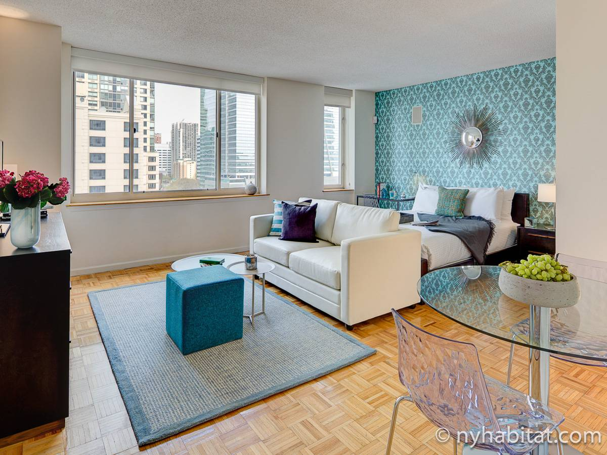 New York - Studio T1 appartement location vacances - Appartement référence NY-17837