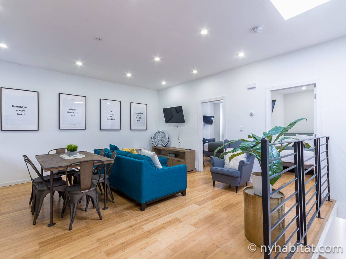 New York - 3 Bedroom accommodation - Apartment reference NY-18026