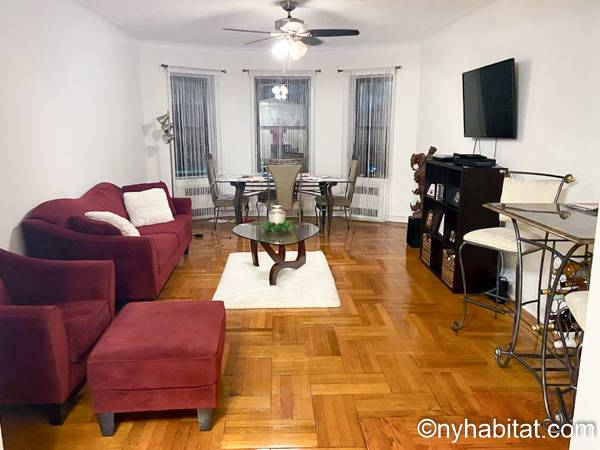 New York - 2 Bedroom roommate share apartment - Apartment reference NY-18362