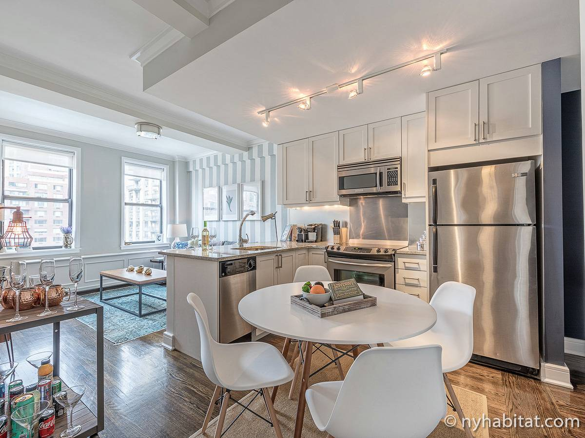 New York - 1 Bedroom apartment - Apartment reference NY-18406