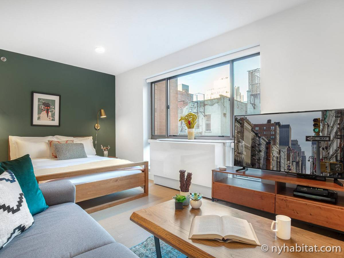 New York - Studio apartment - Apartment reference NY-18486