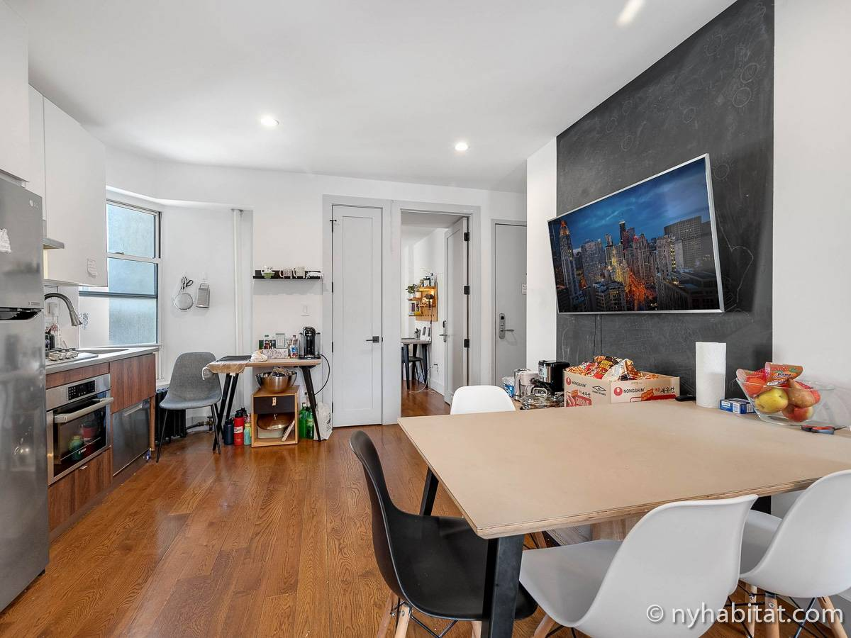 New York - 4 Bedroom roommate share apartment - Apartment reference NY-18547