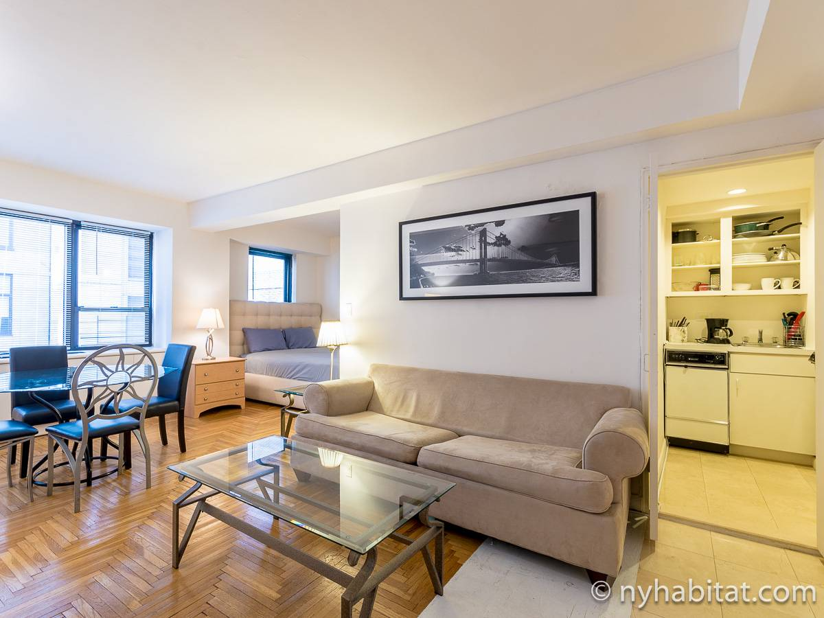 New York - Alcove Studio apartment - Apartment reference NY-9032