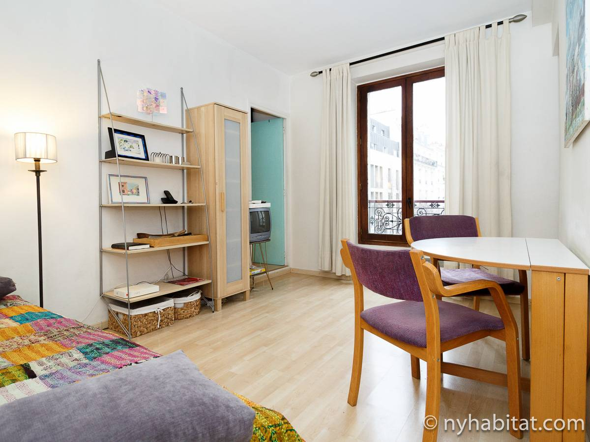 Paris - 1 Bedroom accommodation - Apartment reference PA-385