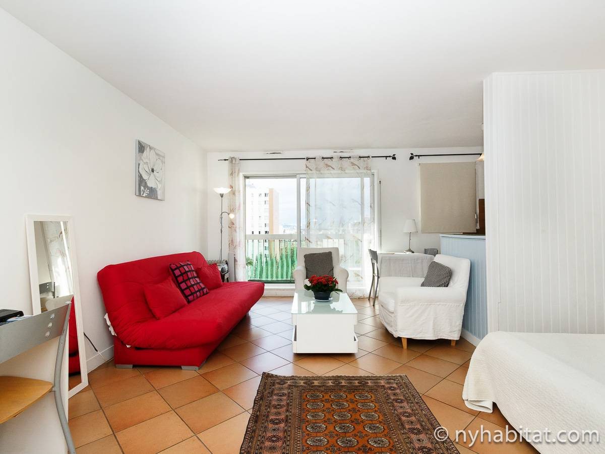 Paris - Alcove Studio apartment - Apartment reference PA-465