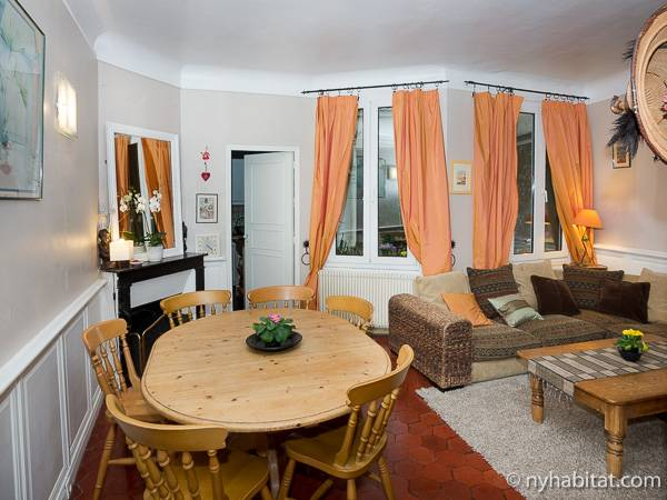 Paris - 3 Bedroom accommodation - Apartment reference PA-840