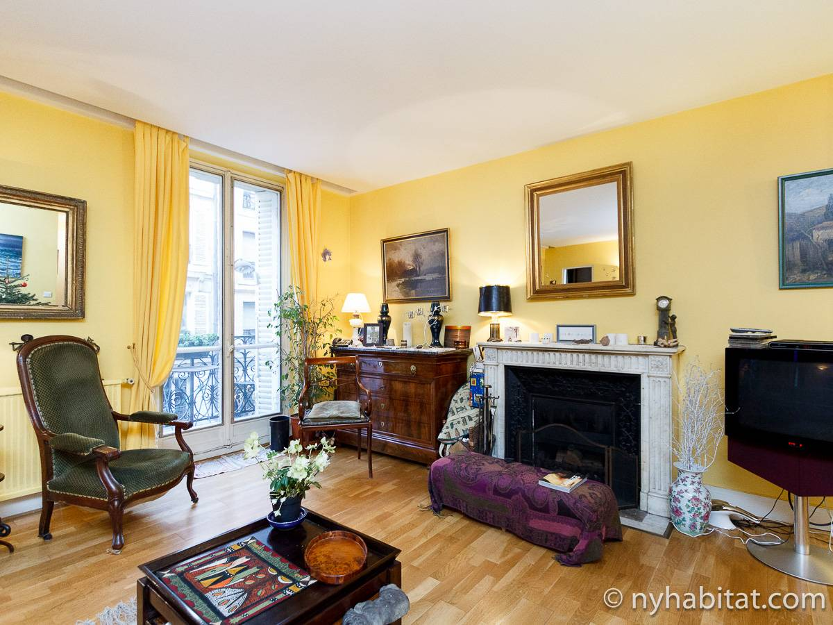 Paris - 1 Bedroom accommodation - Apartment reference PA-931
