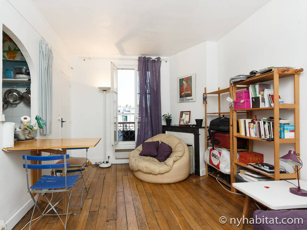 Paris - Studio apartment - Apartment reference PA-1198