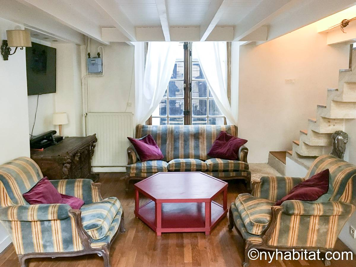 Paris - 3 Bedroom apartment - Apartment reference PA-1203