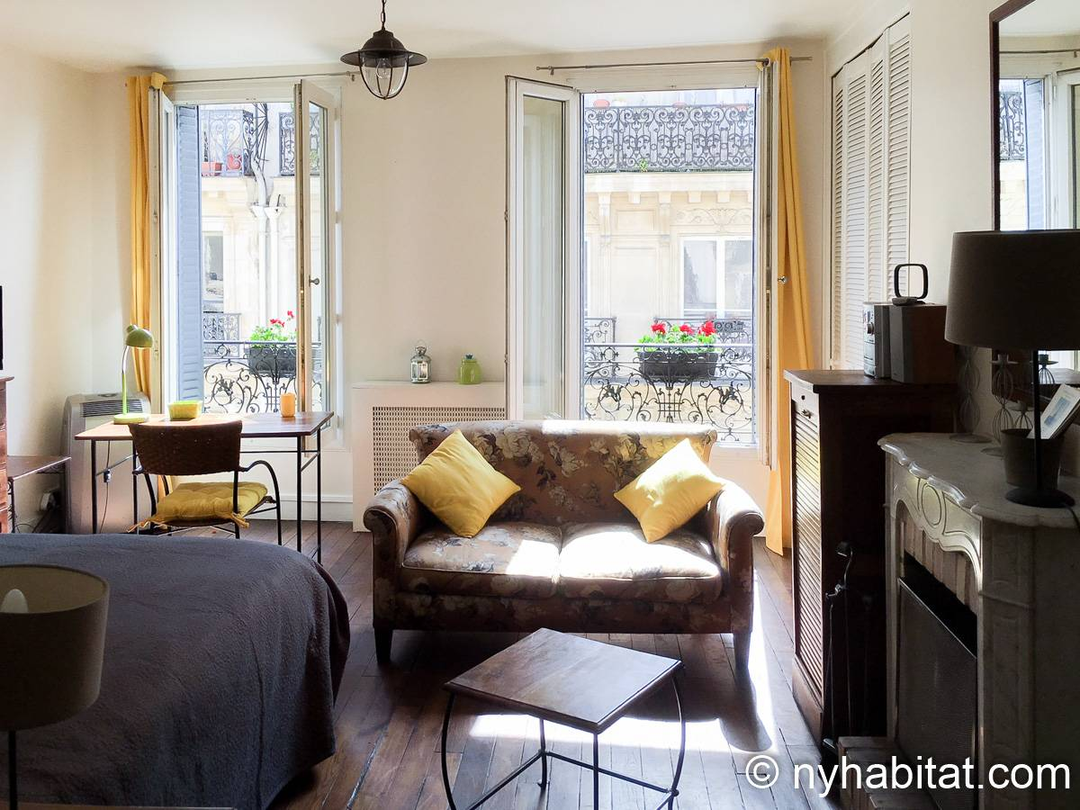 Paris - Studio apartment - Apartment reference PA-1210
