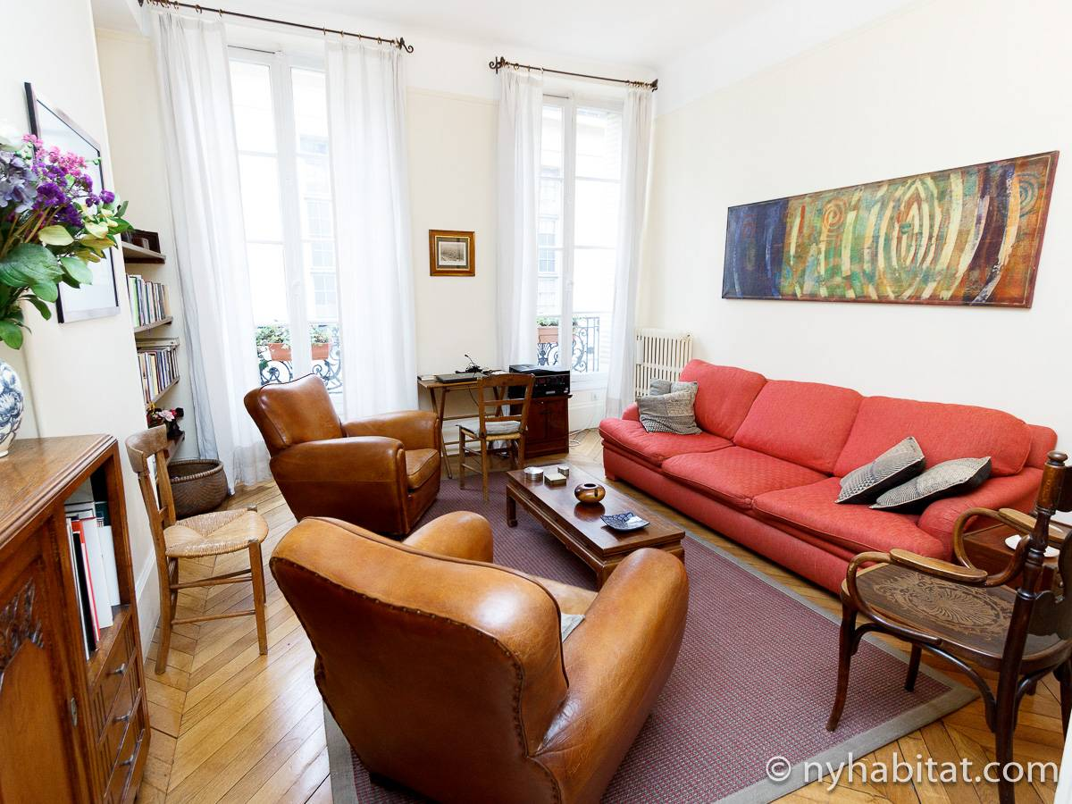 Paris - 2 Bedroom apartment - Apartment reference PA-1228