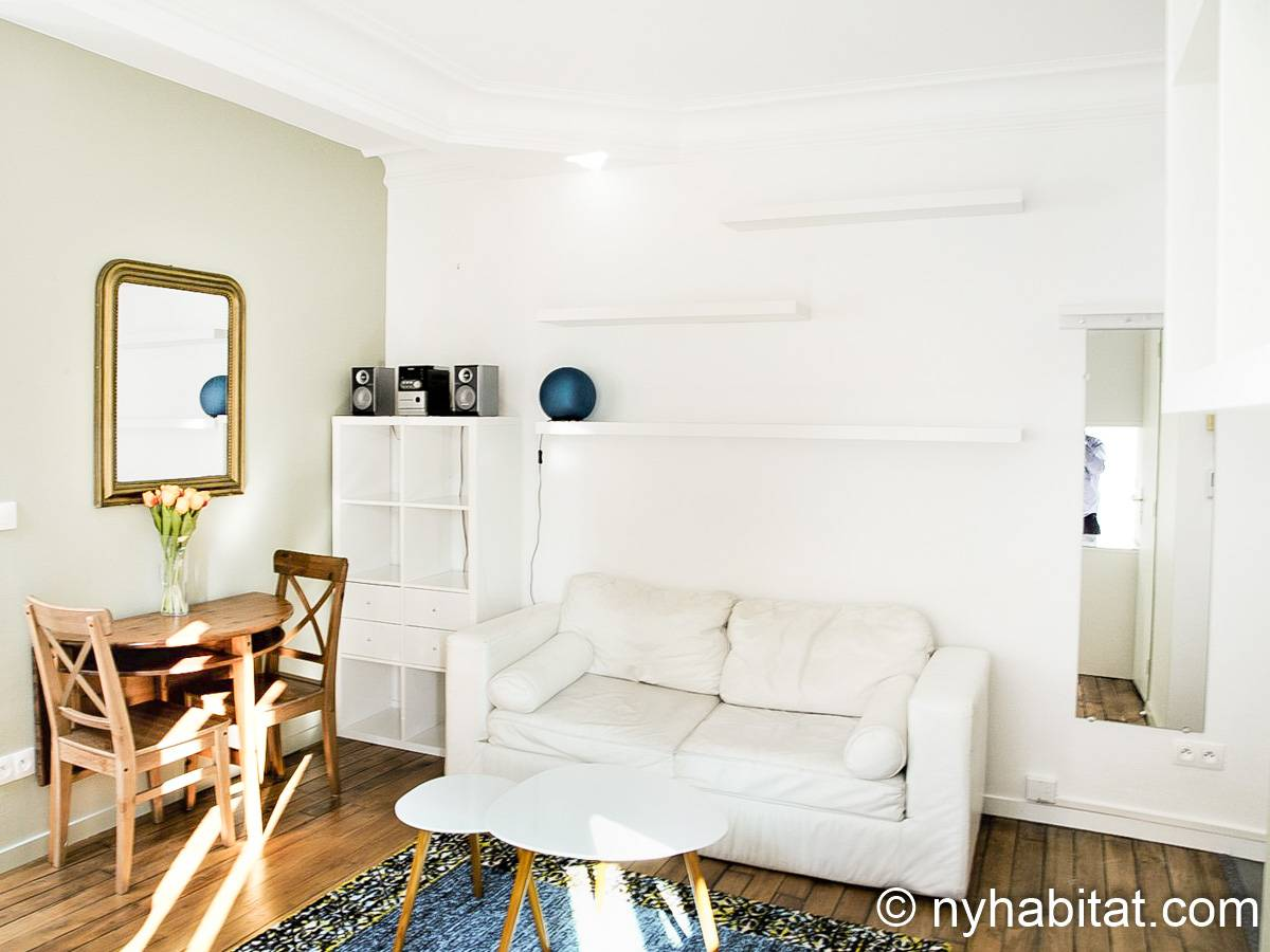 Paris - 1 Bedroom apartment - Apartment reference PA-1265