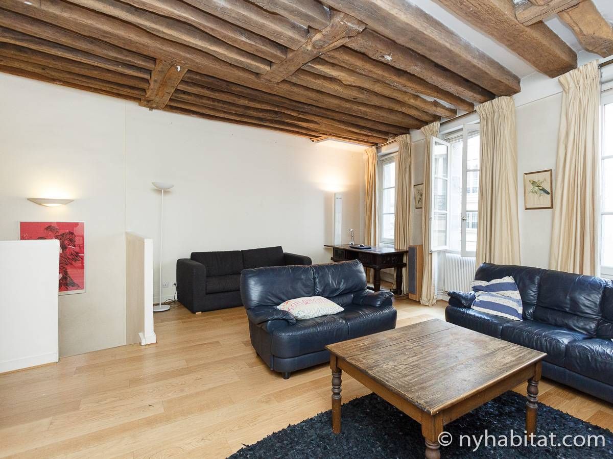 Paris - 1 Bedroom apartment - Apartment reference PA-1310