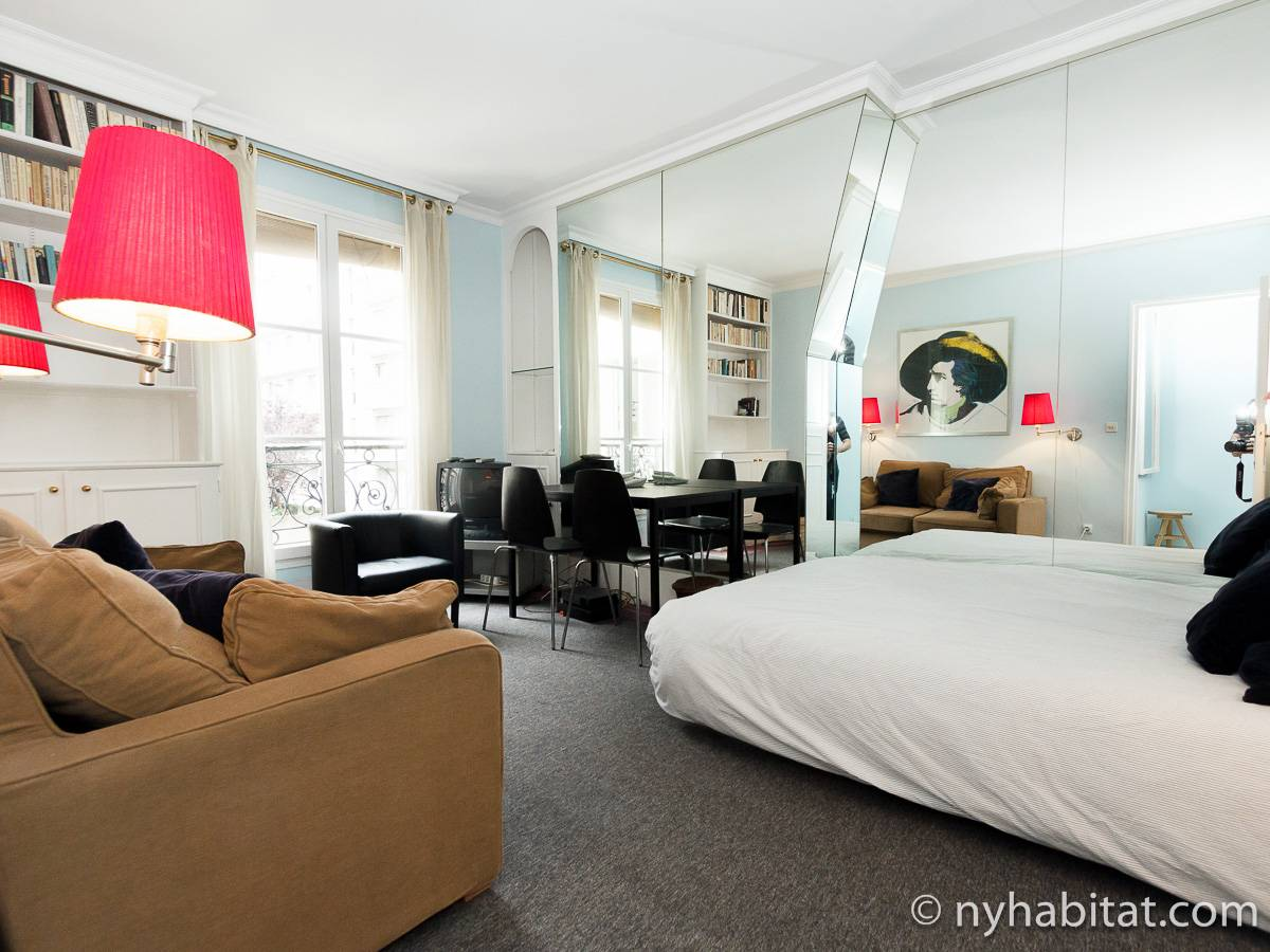 Paris - Studio accommodation - Apartment reference PA-1311