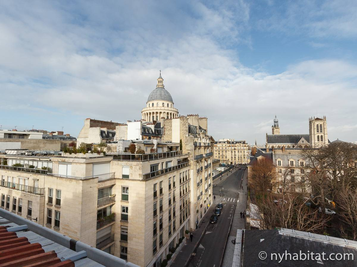 Appartamento a parigi monolocale pantheon pa 1355 for Soggiorno a parigi