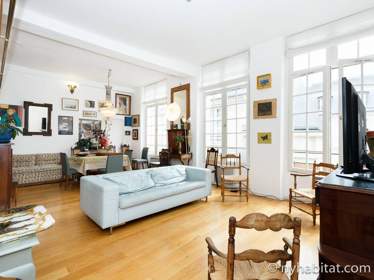 Paris - 2 Bedroom accommodation - Apartment reference PA-1460