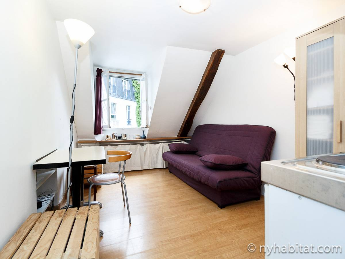 Paris - Studio apartment - Apartment reference PA-1565
