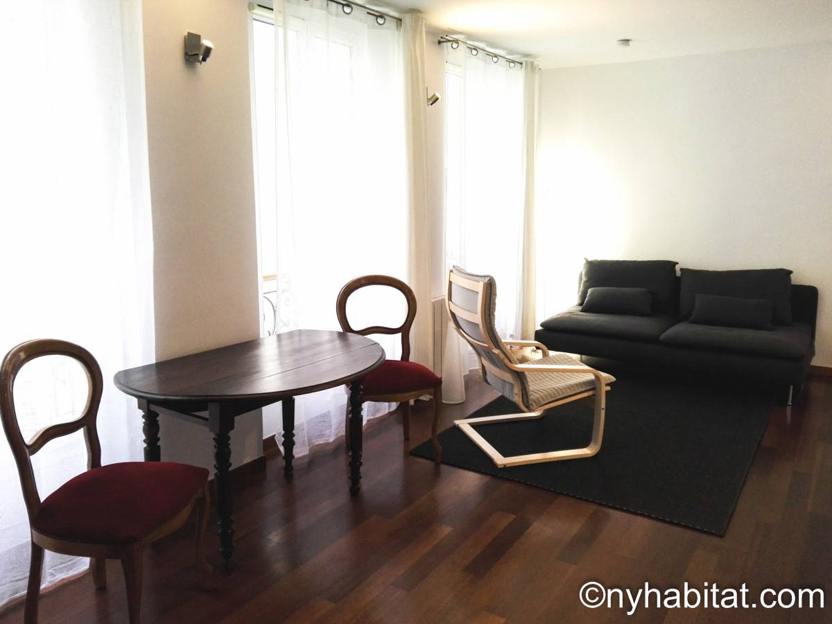 Paris - 1 Bedroom apartment - Apartment reference PA-1594